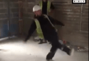 Plumbers vs electricians prank