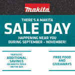 ITM's Makita November sale days