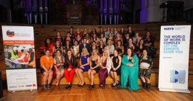 Celebrating inspiring women in construction & the winners are...