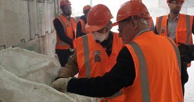 Innovative construction waste project supported by Ministry of the Environment