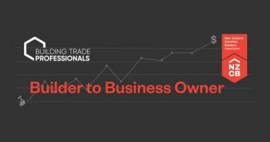 NZCB announces 2019 workshops 'Builder to Business Owner'