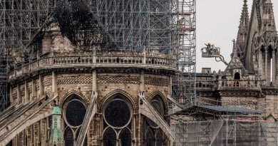 Architects reveal designs for Notre-Dame spire rebuild