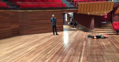 Christchurch company wins coveted award for Town Hall floor restoration