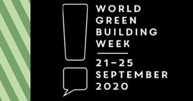 World Green Building Week 2020 kicks off Monday 21 September