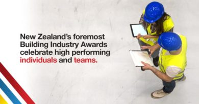 NZ Building Awards - nominations open until 7 May 2021 for self or others