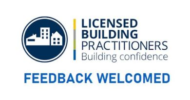 MBIE welcomes feedback on the Licensed Building Practitioners scheme