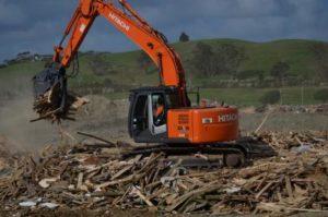 Northland Waste redirecting construction wood waste